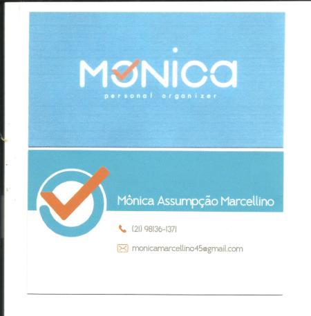 Cartão Monica Assumpção Marcellino